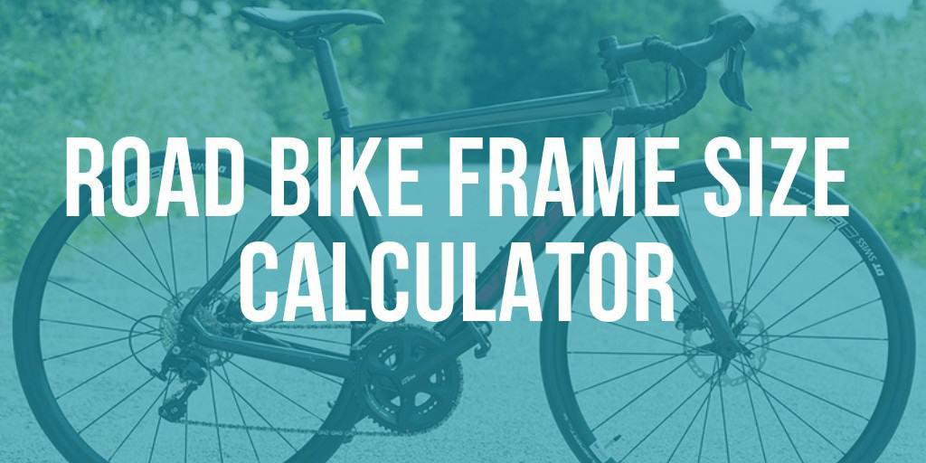 Road bike frame size calculator