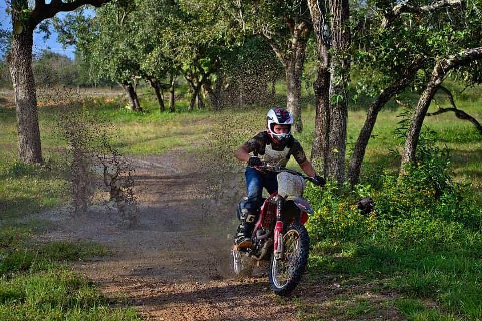 dirt bike mud