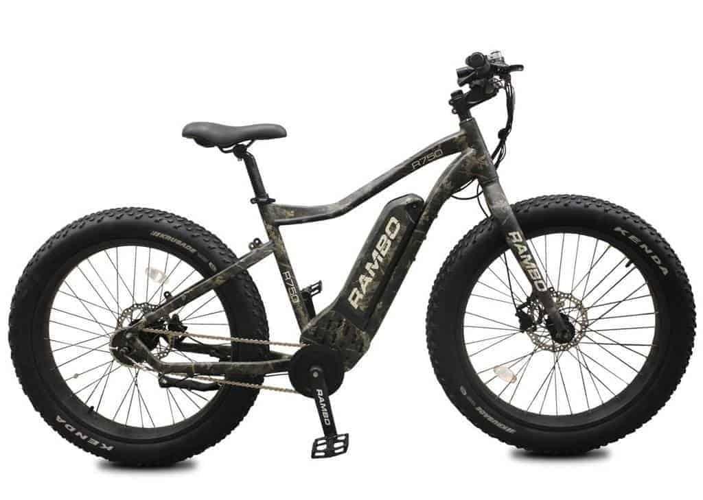Rambo R750 electric hunting bike