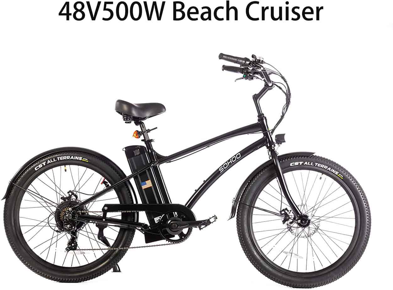 Sohoo Beach Cruiser Electric Bike