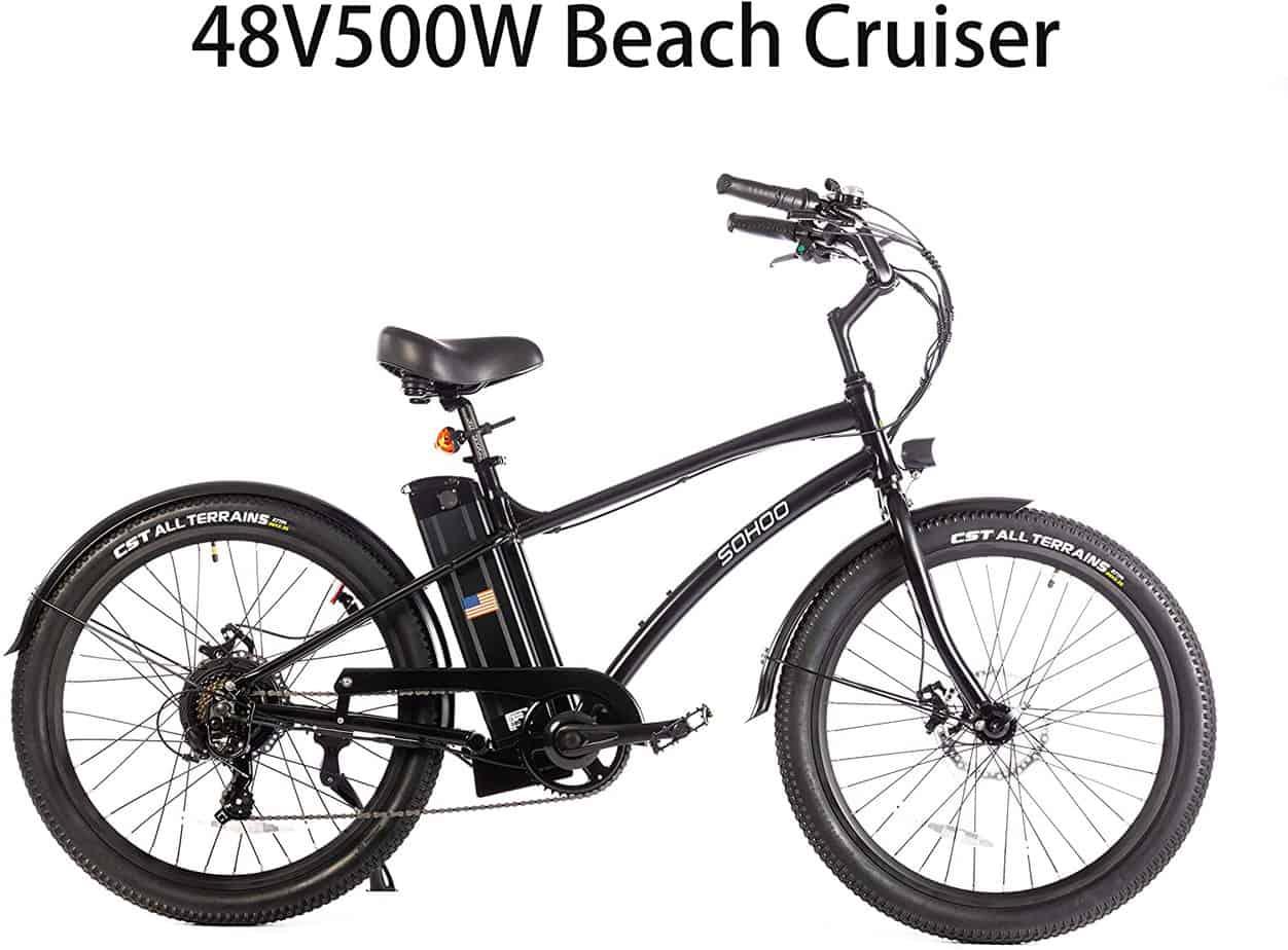 Sohoo Beach Cruiser Electric Bike