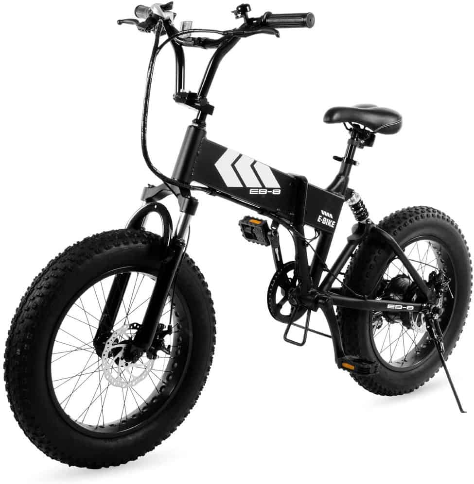 Swagtron EB-8 Outlaw Fat Tire Electric Bike – Foldable Off-Road Fat eBike