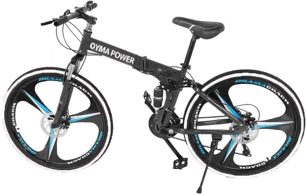 Folding Full Suspension MTB Bike