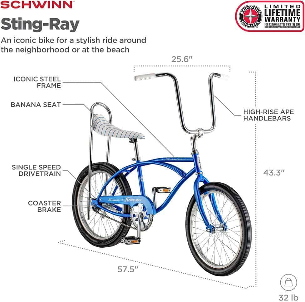 Schwinn-sting-ray parts