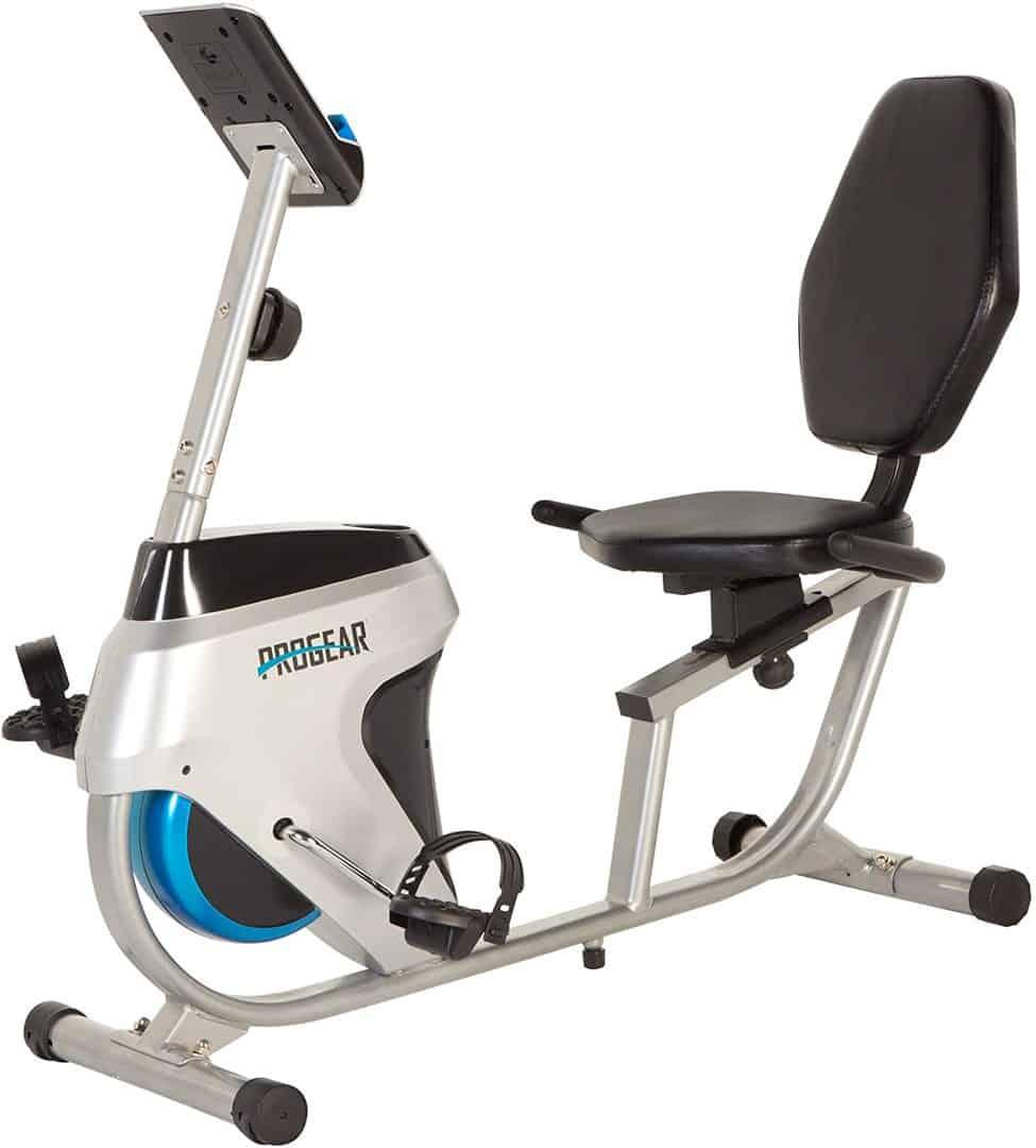 progear-555lxt-magnetic-tension-recumbent-bike