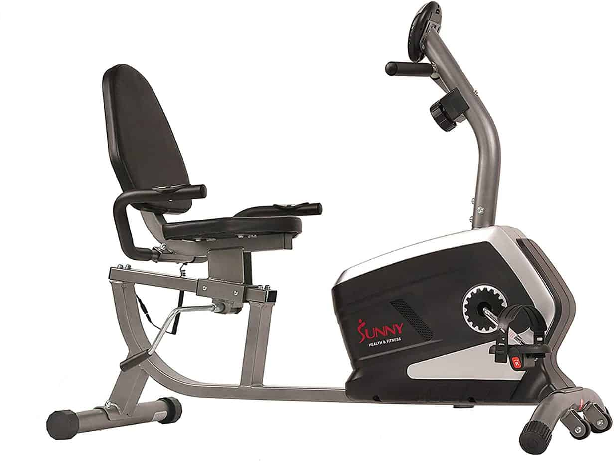 sunny-health-fitness-magnetic-recumbent-exercise-bike