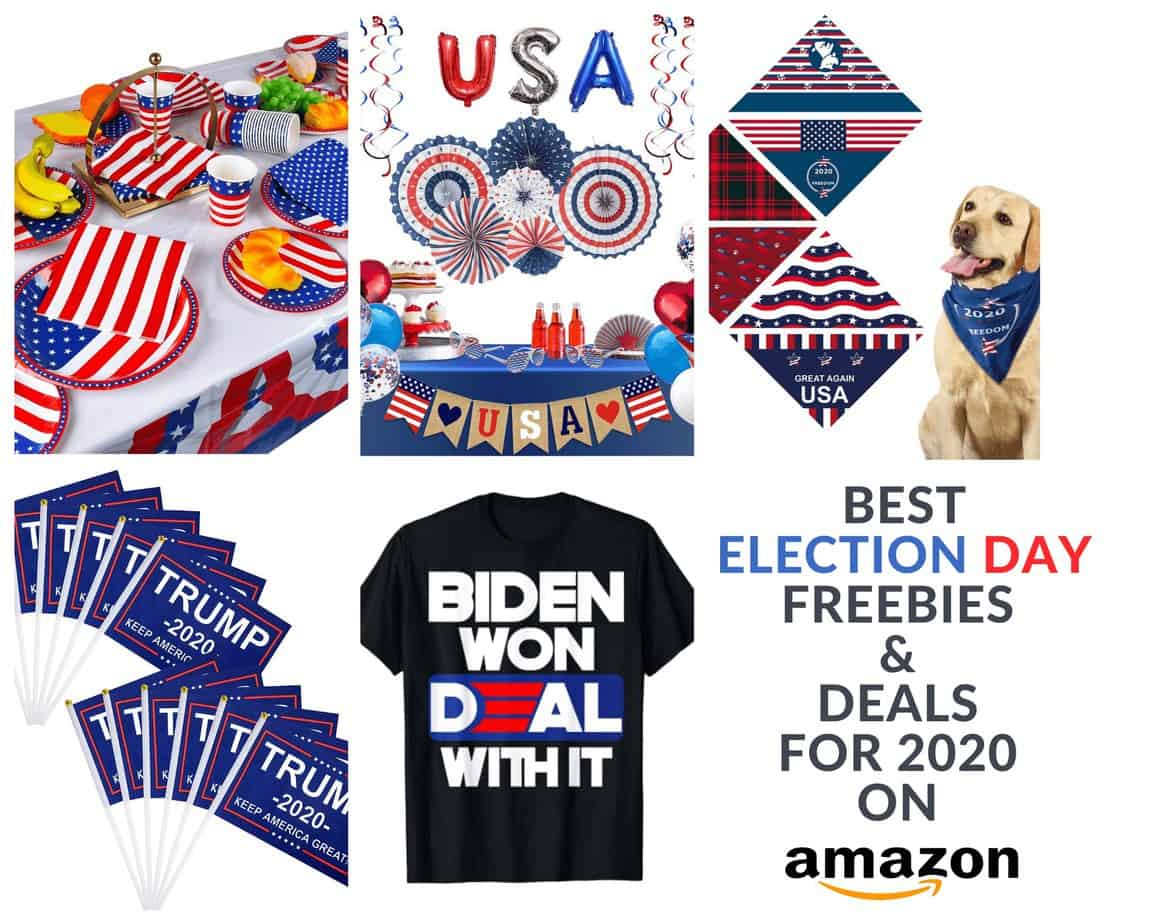 Amazon deals on election day