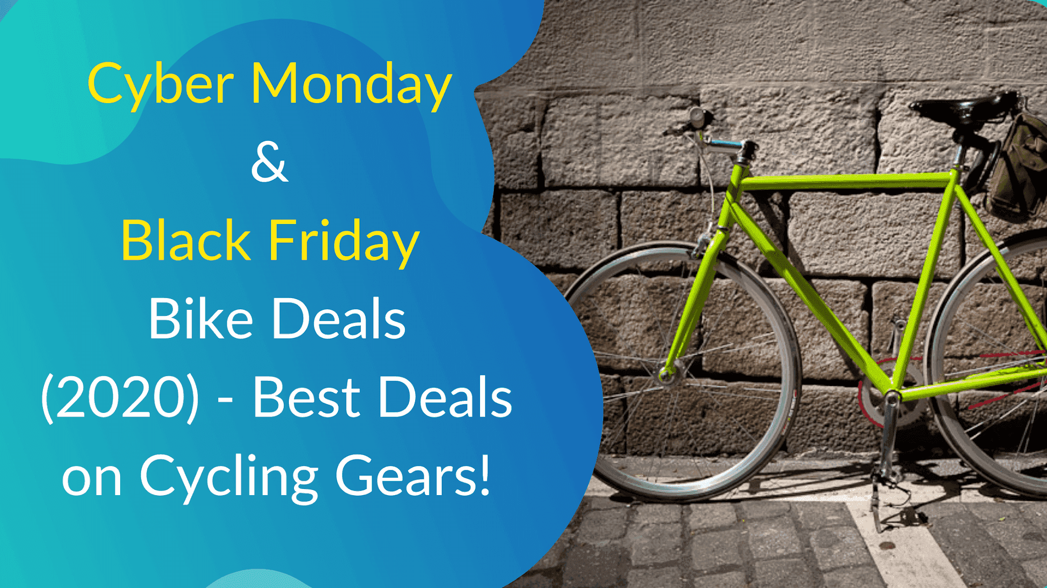Cyber Monday and Black Friday Bike Deals