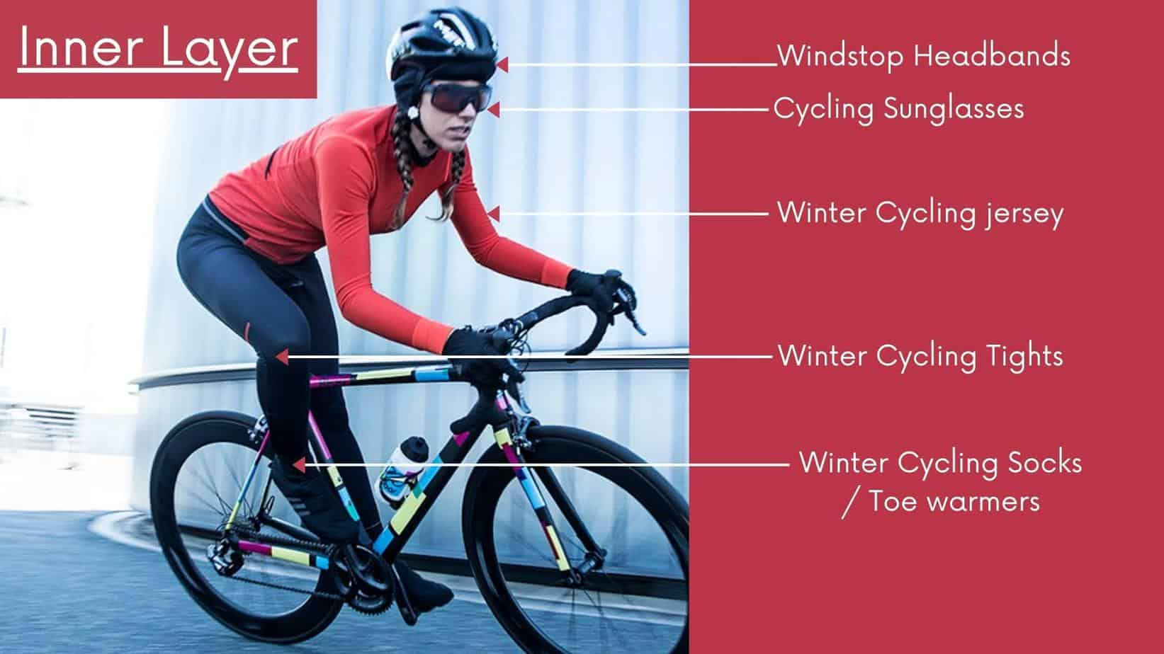 Inner Layer of Winter Cycling