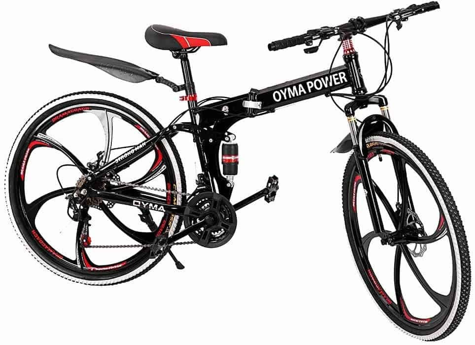 Outroad Mountain Folding Bike