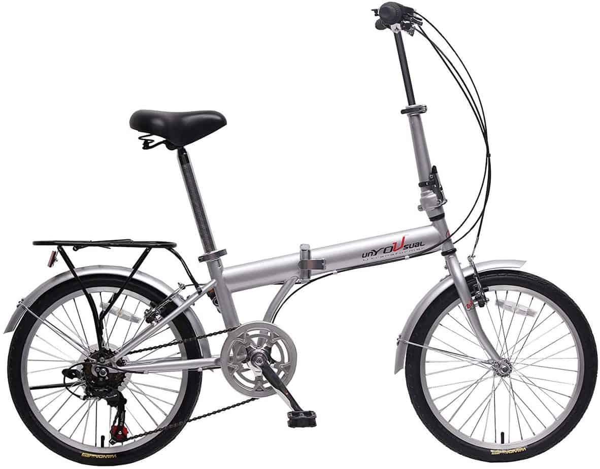unYOUsual U Transformer Folding City Bike