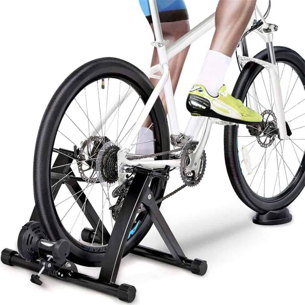 YAHEETECH Premium Steel Bike Indoor Trainer Stand