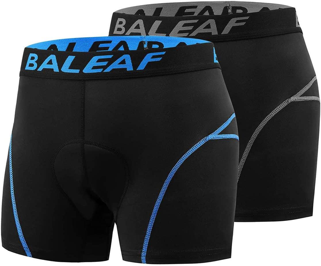 Baleaf Mens Bike Under Wear Cycling shorts for men