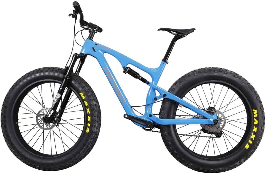 ICAN Carbon Fat/Snow Bike