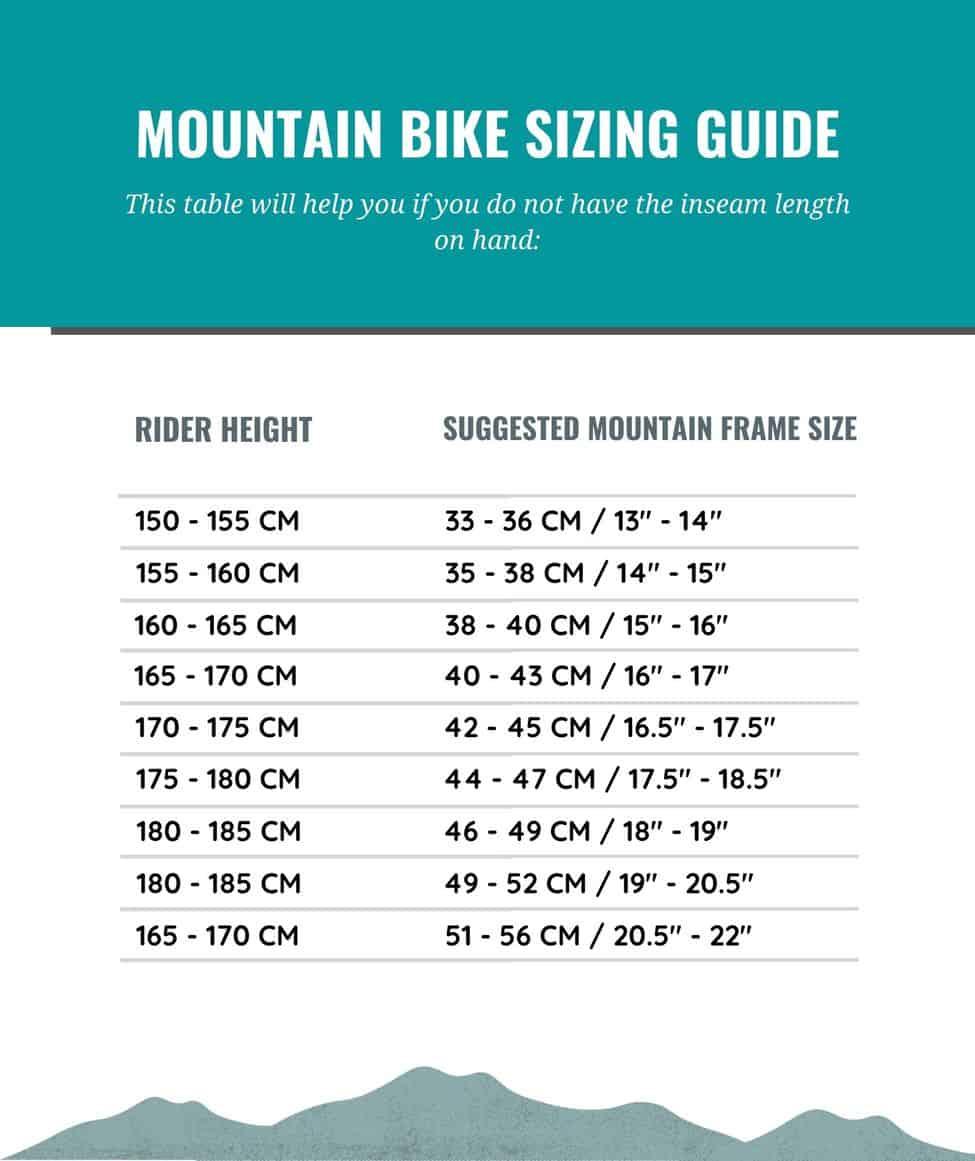 Mountain Bike Sizing Guide