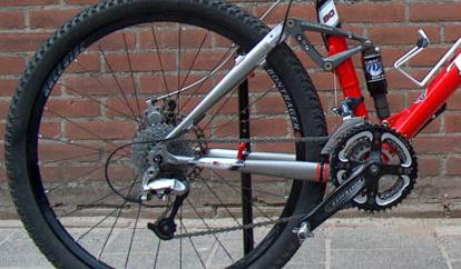 Mountain  Bike suspension