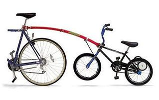 Attachment - Tow Bar for Tandem Bike