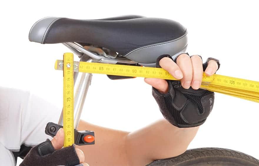 Bike Saddle Seat Bone Measurement
