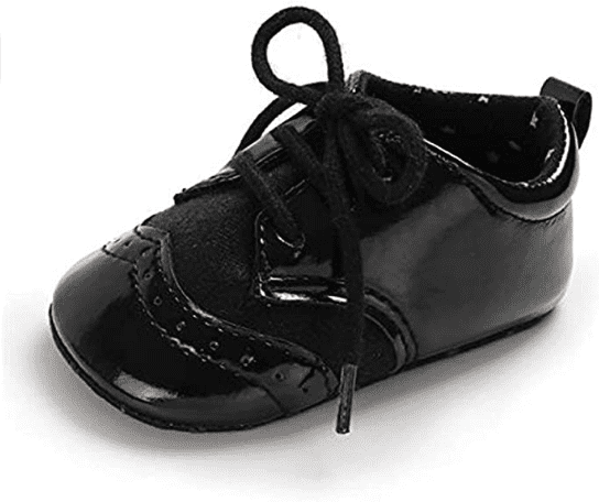 Baby Boys Girls Oxford Shoes Soft Sole