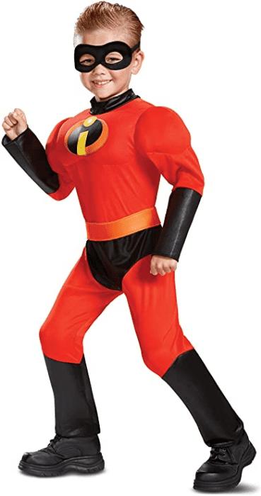 Classic Dash Muscle Boys Costume