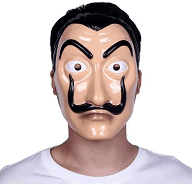 Dali Mask Reality Party Mask Halloween - Money Heist