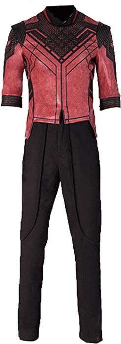 Men's Outfit Shang Chi Legend Ten Rings Halloween