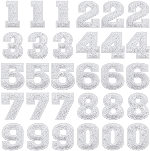 Numbers Patches