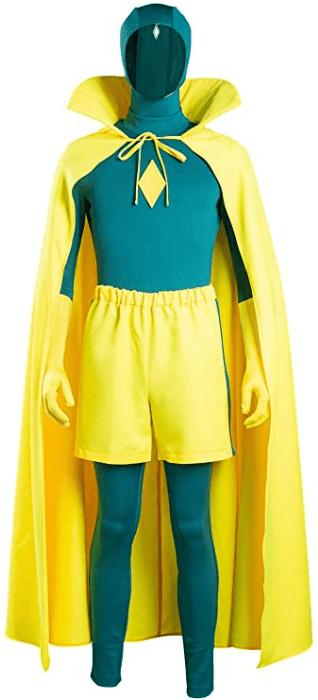 Vision Cosplay Costume Superhero Wanda Series Outfits